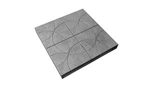 Тротуарная плитка Лепесток 250х250х40