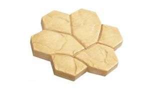Тротуарная плитка Дикая мозаика 380х380х40