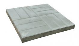 Тротуарная плитка 12 кирпичей 500х500х60