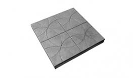 Тротуарная плитка Лепесток 250х250х25