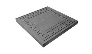 Тротуарная плитка Греческий орнамент 300х300х30