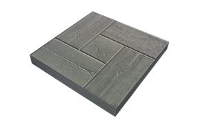 Тротуарная плитка Калифорнийская доска 300х300х30