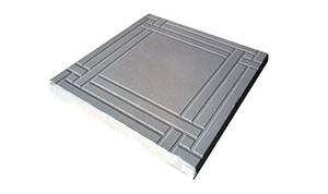 Тротуарная плитка Плетение 300х300х30
