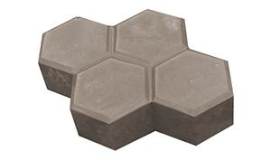 Тротуарная плитка Шестигранник 200х235х40