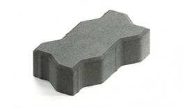Тротуарная плитка Волна (зигзаг) толщина 60 мм